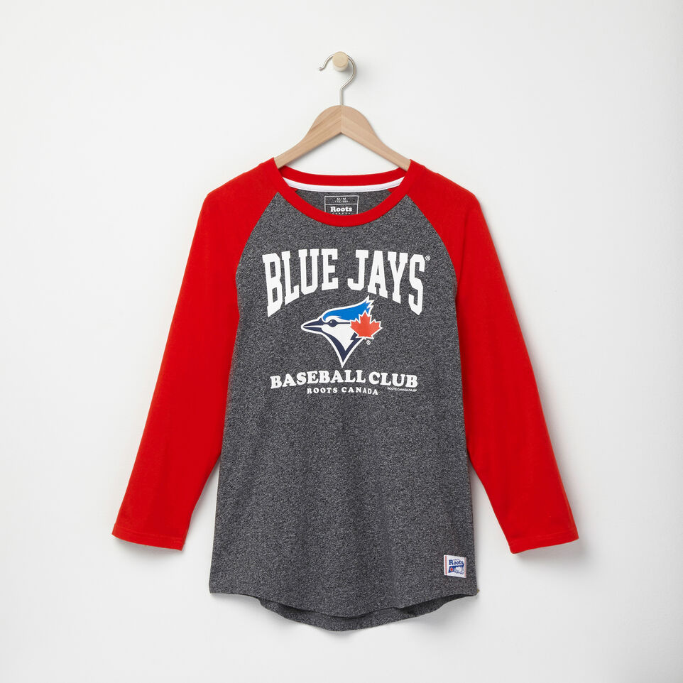Roots-undefined-Mens Blue Jays Ballpark Baseball T-shirt-undefined-A