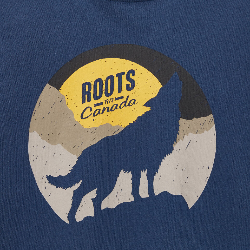 Roots-undefined-Boys Howl At The Moon T-Shirt-undefined-C