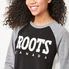 Roots-undefined-Retro Roots Cozy Fleece Crew-undefined-A