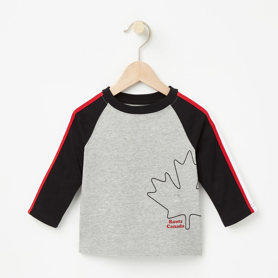 Roots-undefined-Baby Slater Baseball Top-undefined-A