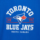 Roots-undefined-Mens Blue Jays Banner T-shirt-undefined-C