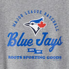 Roots-undefined-T-shirt Mnch Crt Blue Jays Fem-undefined-C