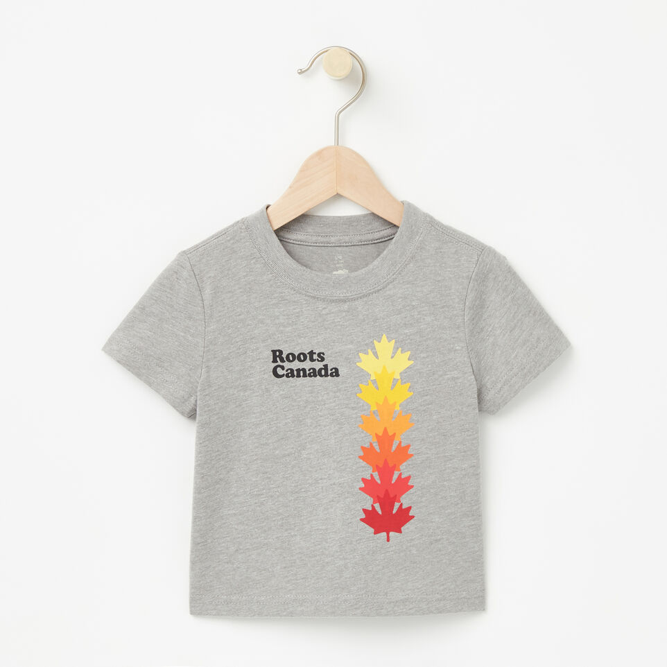 Roots-undefined-Baby Roots Canada Leaf T-shirt-undefined-A
