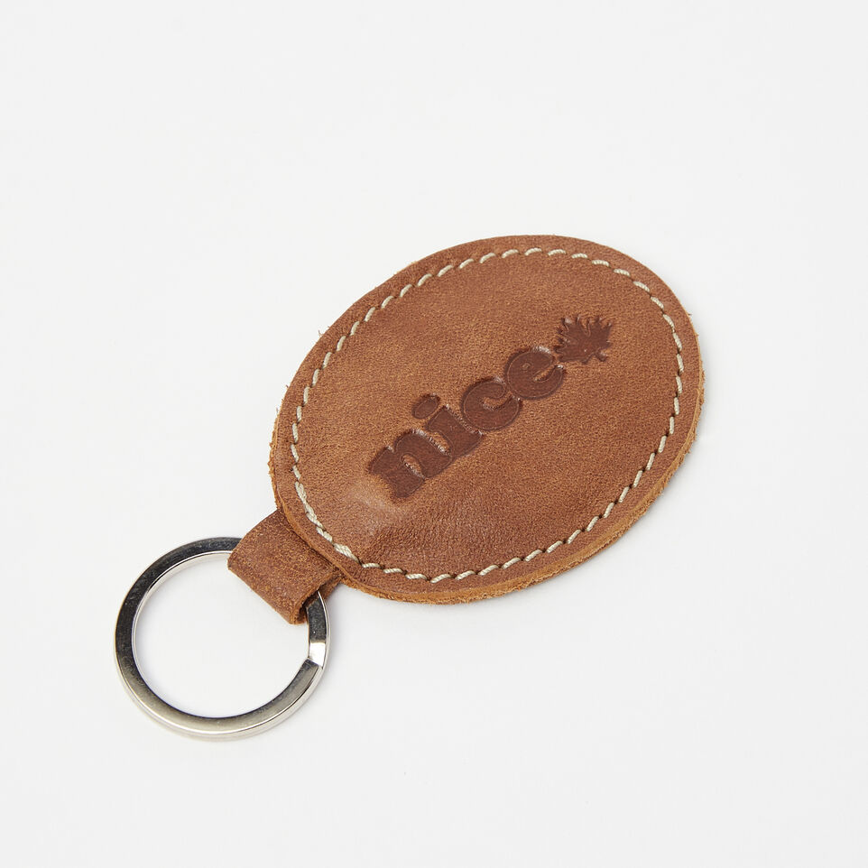 Roots-undefined-Nice Oval Key Chain Tribe-undefined-A