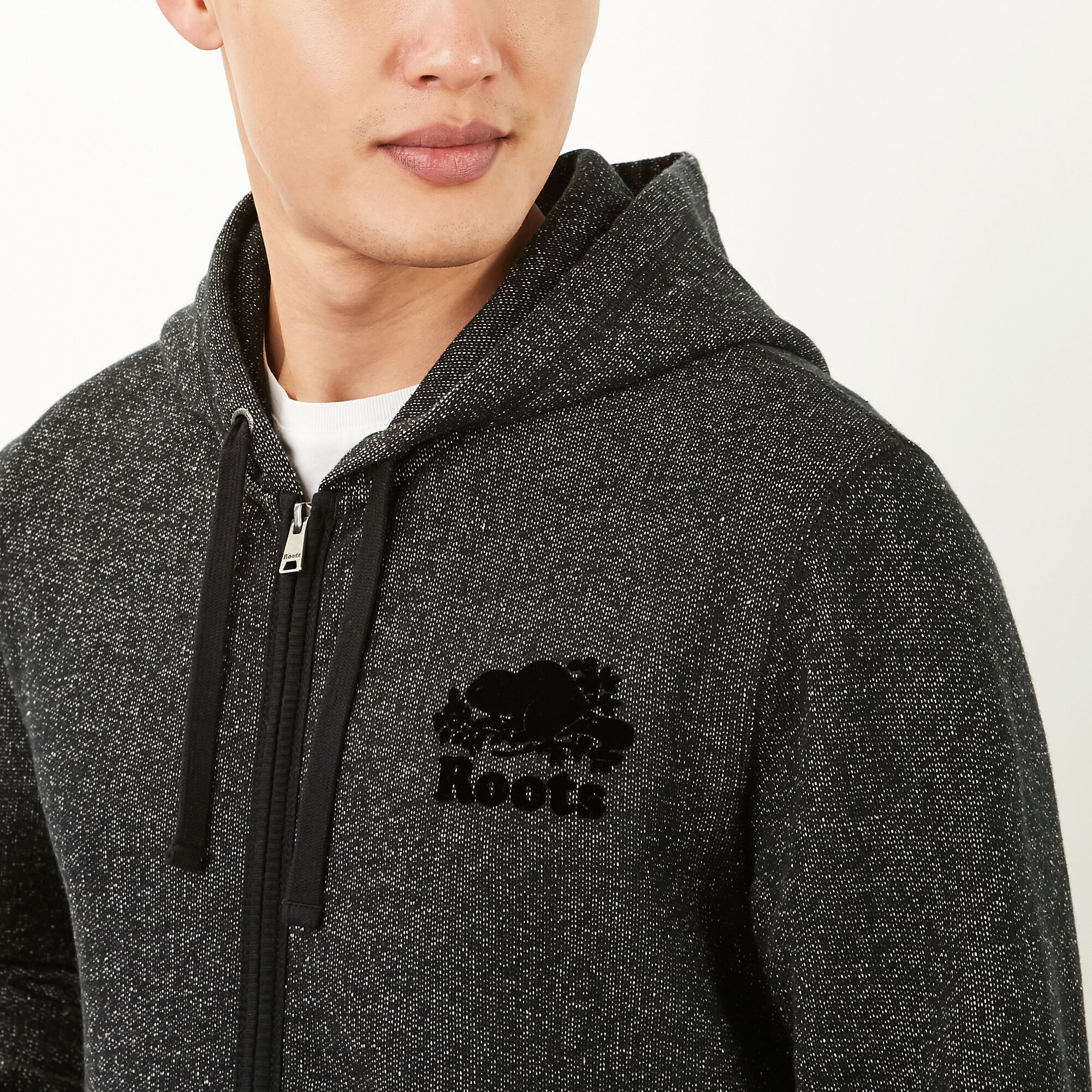 Roots Black Pepper Original Full Zip Hoody