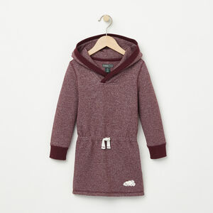 Roots-Kids Toddler Girls-Toddler Pepper Hooded Dress-Cabernet Pepper-A