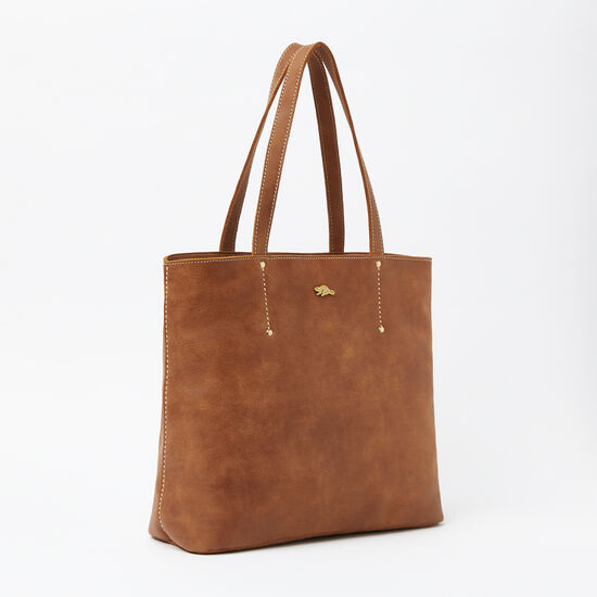 Roots-Women Totes-Downtown Zip Tote Tribe-Africa-A
