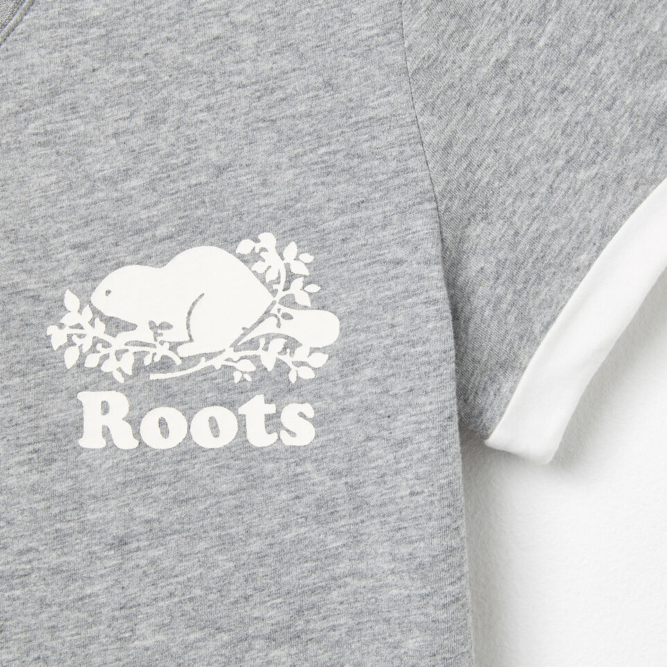 Roots-undefined-V-neck Cooper T-shirt-undefined-D