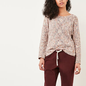 Roots-Soldes Femmes-Chandail Atwood-Rhododendron-A