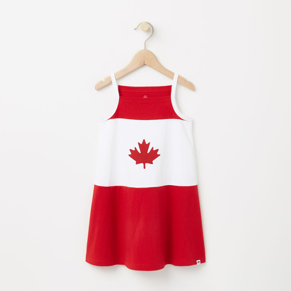 Roots-undefined-Tout-Petits Robe Camisole Drapeau Canada-undefined-A