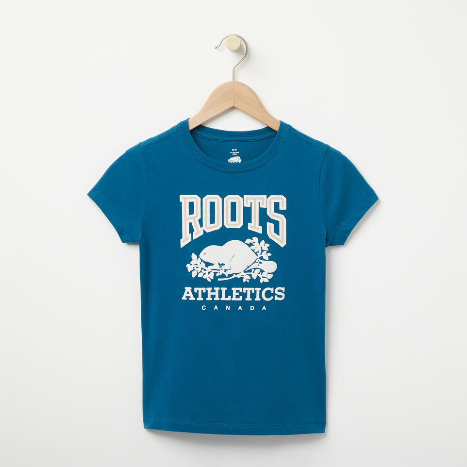 Roots-undefined-Filles T-shirt RBA-undefined-A