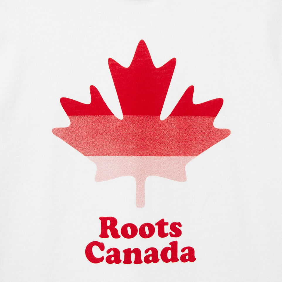 Roots-undefined-Garçons T-shirt Ombre Feuille Cooper-undefined-C