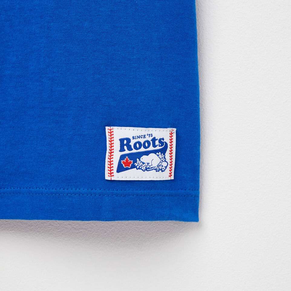 Roots-undefined-Womens Blue Jays Banner T-shirt-undefined-D