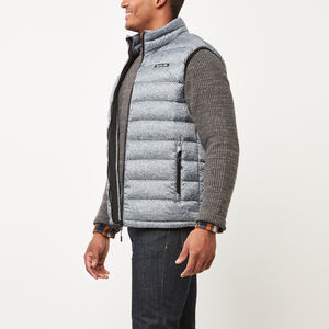 Roots-Men Jackets-Roots Packable Down Vest-Salt & Pepper-A