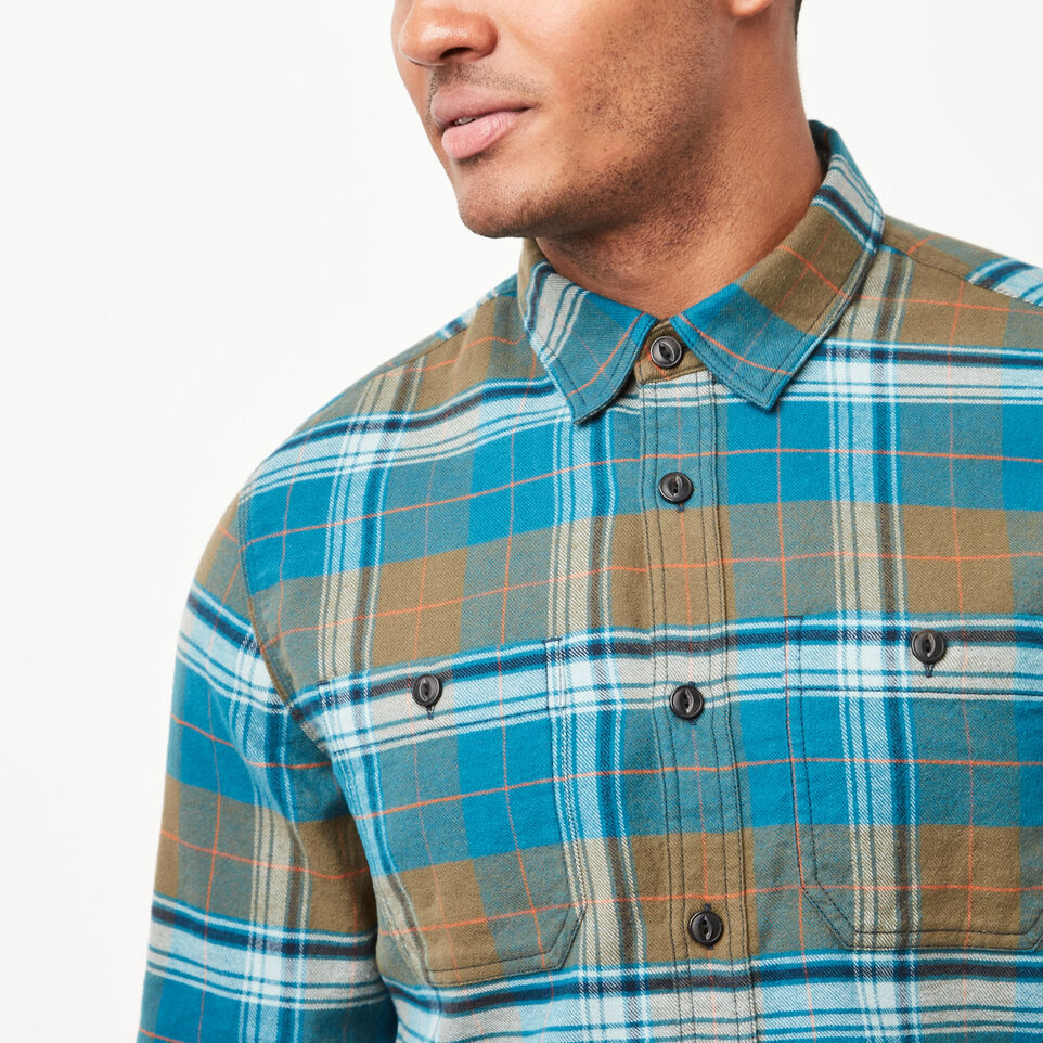 Roots-undefined-Rivers Flannel Shirt-undefined-C