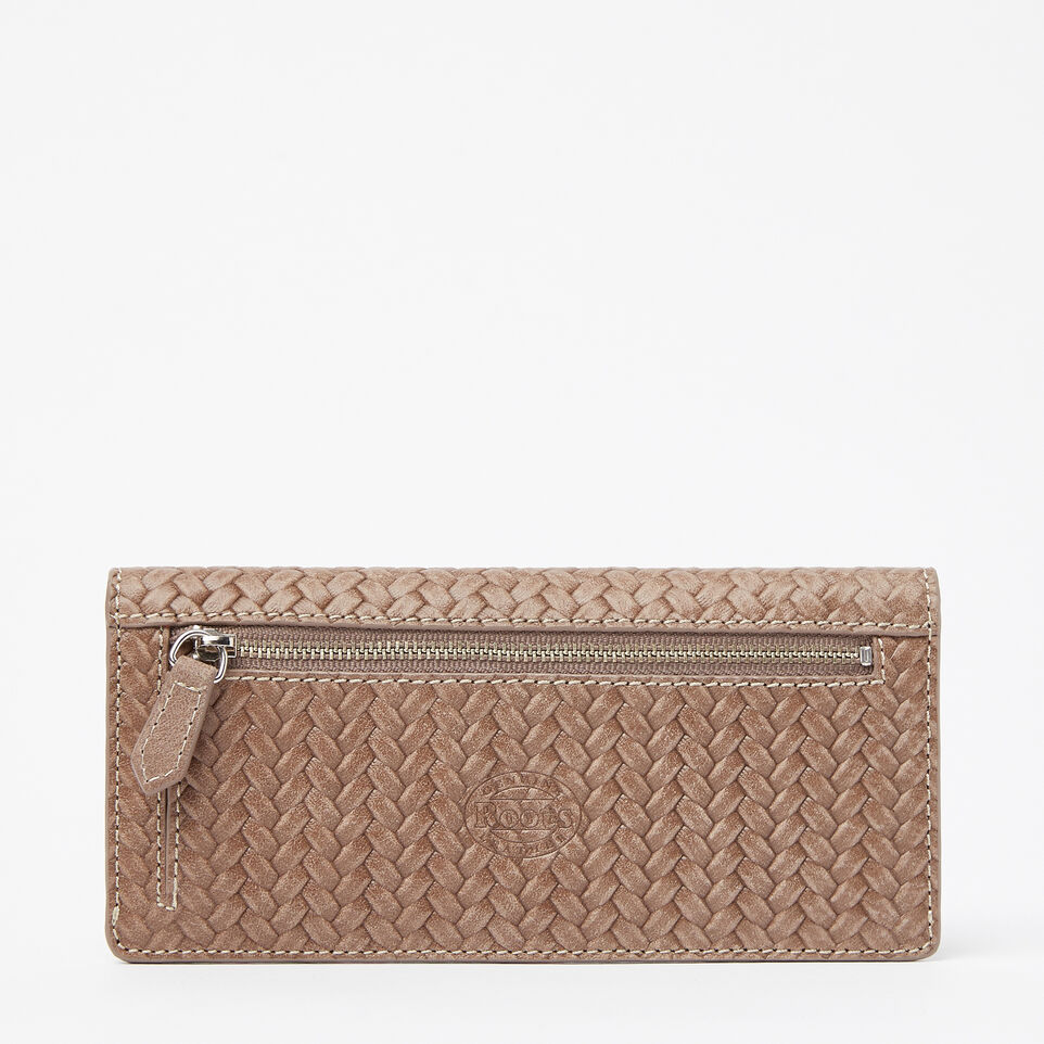 Roots-undefined-Slim Curve Wallet Woven Tribe-undefined-C