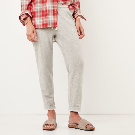Roots-Women Pants-Heather Pant-Grey Mix-A