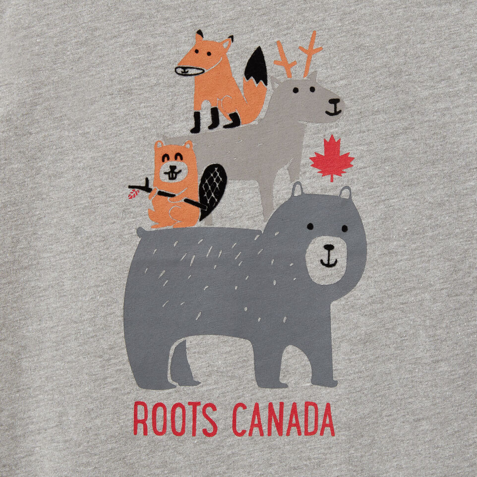 Roots-undefined-Toddler Forest Buddies T-shirt-undefined-C
