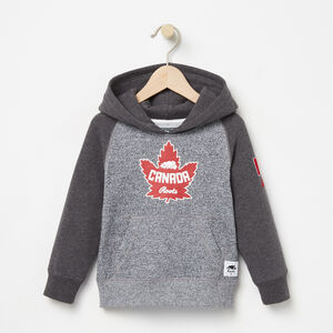 Roots-Gifts For Kids-Toddler Heritage Canada Kanga Hoody-Salt & Pepper-A