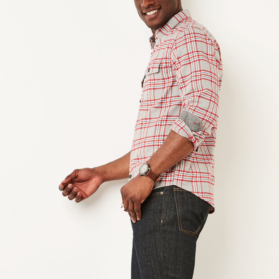 Roots-undefined-Heritage Flannel Shirt-undefined-C