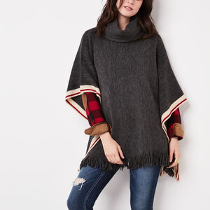 Roots-Women Accessories-Cabin Popover-Charcoal Mix-A