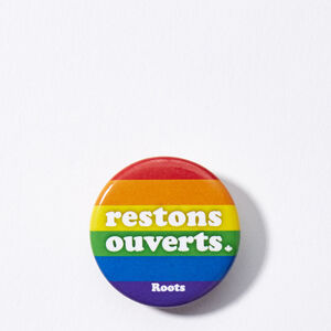 Roots-Men Roots Home-Boutons De Restons Ouverts- Pride-Multi-A