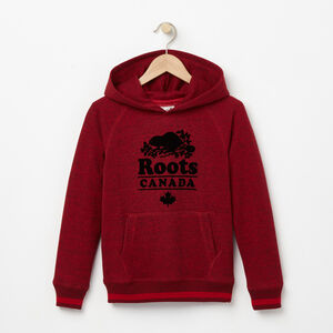 Roots-Kids Boys-Boys Roots Cabin Kanga Hoody-Lodge Red Pepper-A