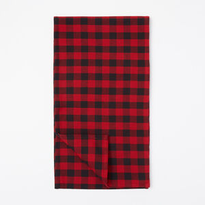 Roots-Femmes Magasin Général-Buffalo Plaid Table Runner-Rouge Chalet-A
