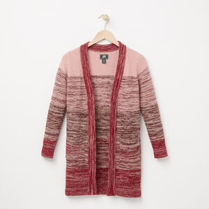 Roots-Soldes Filles-Filles Cardigan Primrose-Rhododendron-A