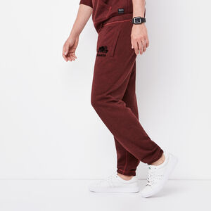 Roots-Men Original Sweatpants-Original Sweatpant-Madder Brown Pepper-A