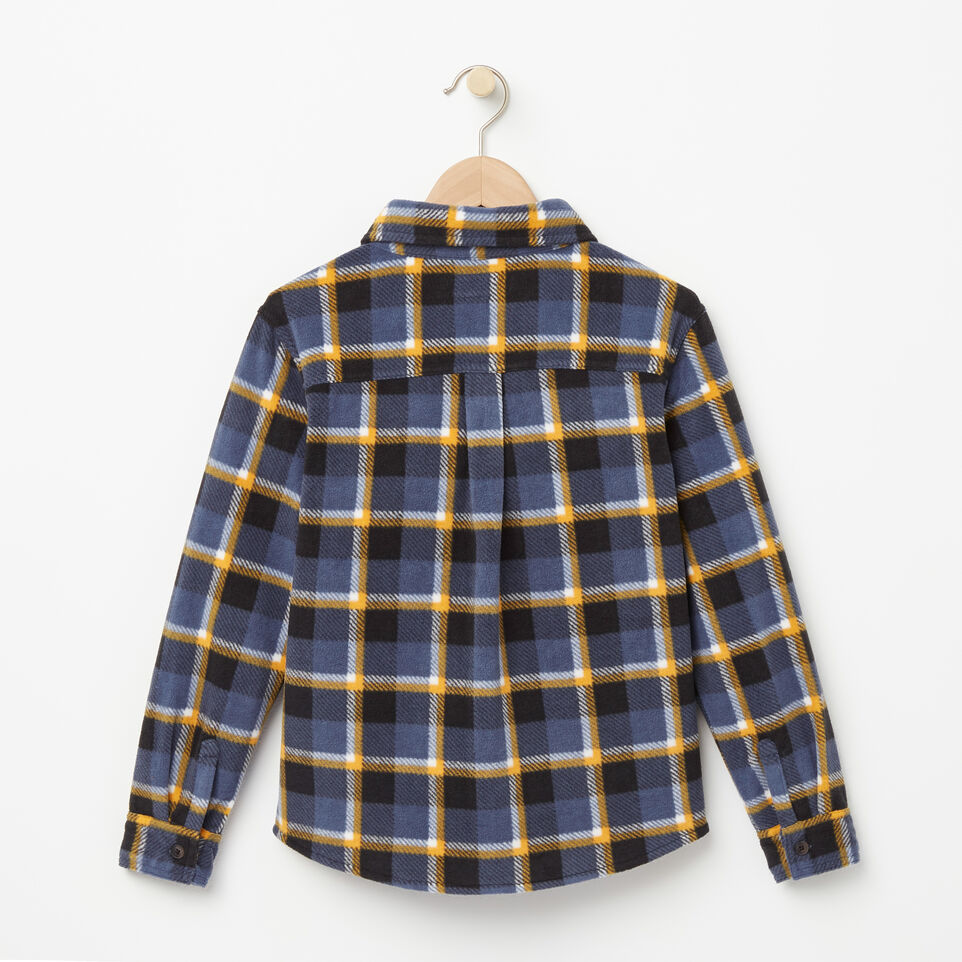 Roots-undefined-Boys Lake Point Microfleece Shirt-undefined-B