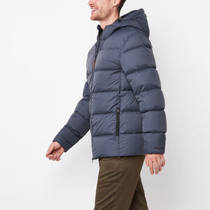 Roots-Men Jackets-Peakside Parka-Charcoal Blue-A