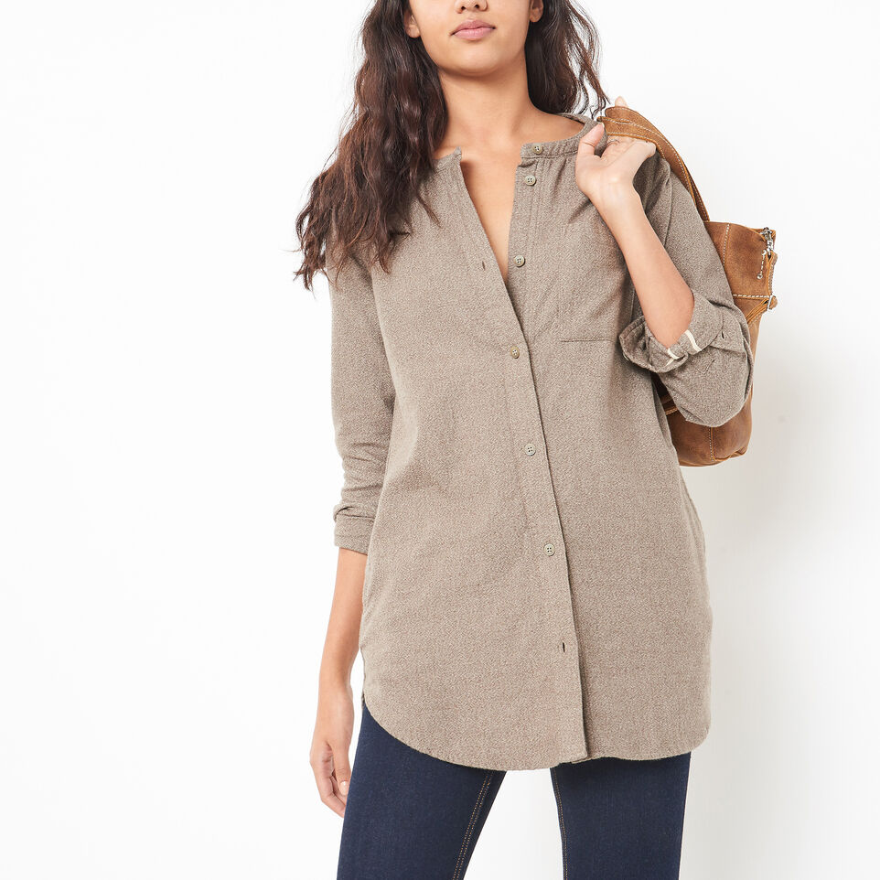 Roots-undefined-Tisdale Flannel Tunic-undefined-A