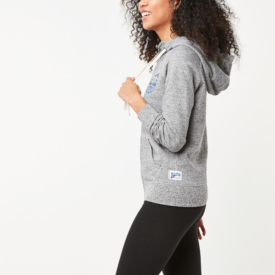 Roots-undefined-Womens Blue Jays Zip Hoody-undefined-B