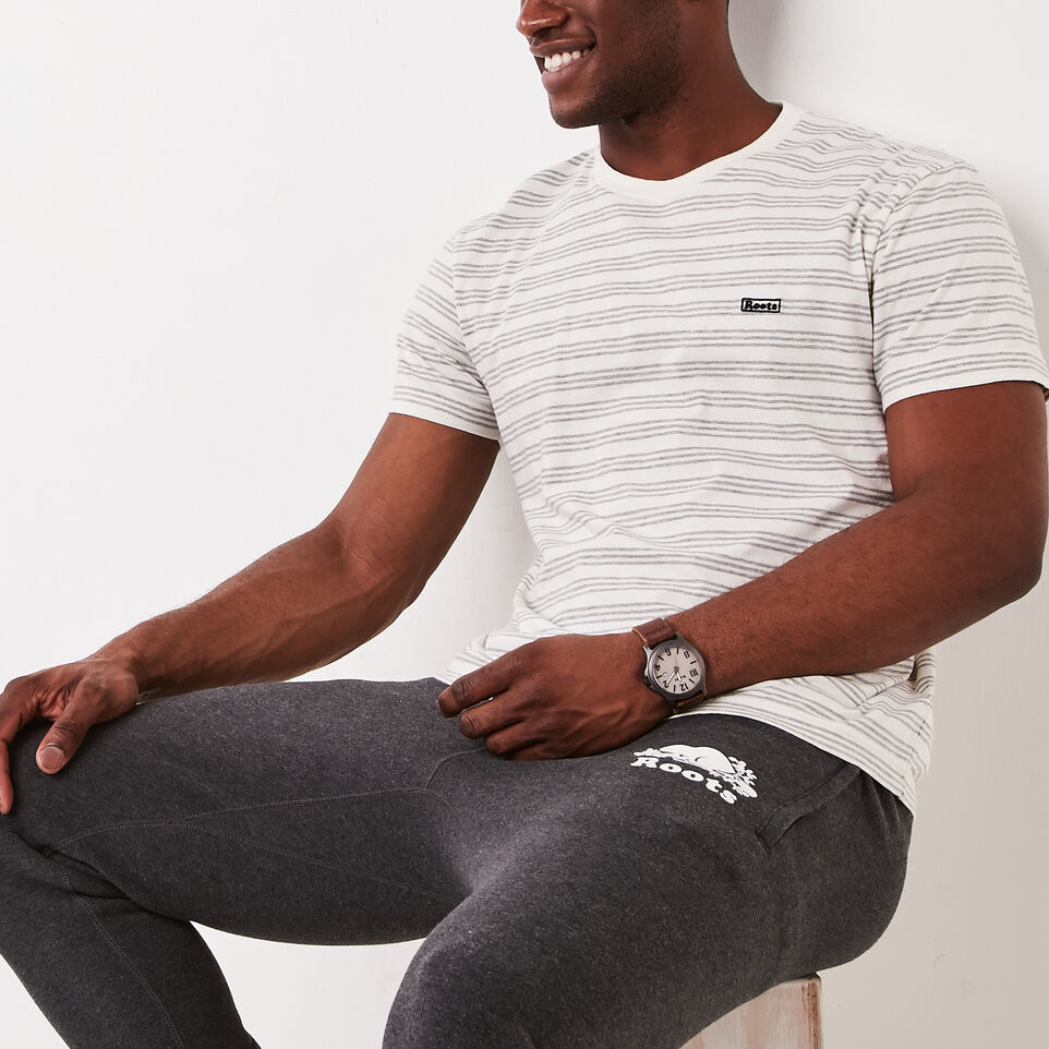 Roots-undefined-Cooper Stripe T-shirt-undefined-A