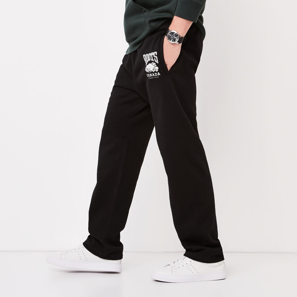 Roots-undefined-Classic Open Bottom Sweatpant-undefined-B