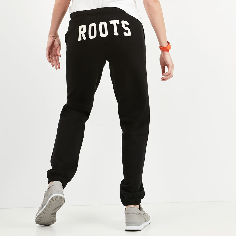 Roots-undefined-Pantalon Coton Ouaté Roots-undefined-A