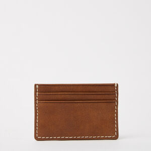 Roots-Leather Men's Wallets-Business Card Holder Tribe-Africa-G