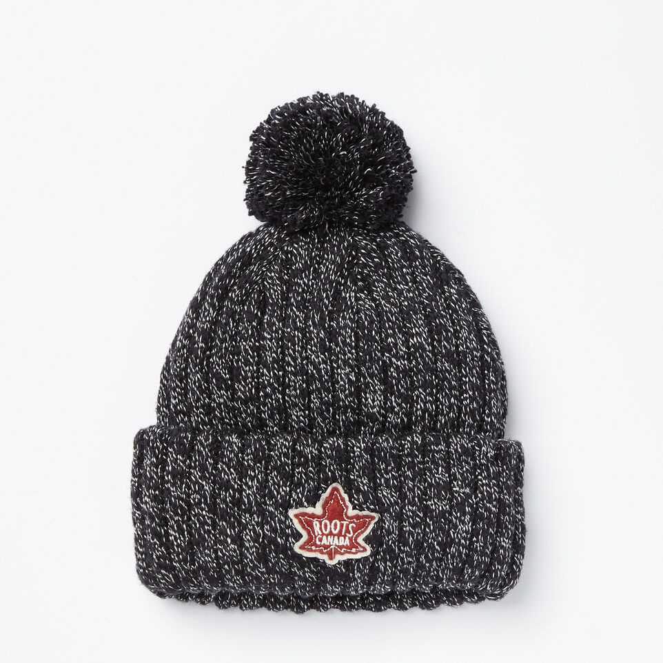 Roots-undefined-Kids Winter Fox Pom Pom Toque-undefined-A