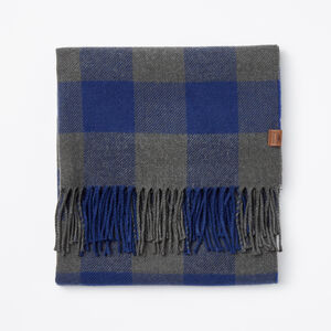 Roots-Men Accessories-Algonquin Scarf-Blue Depths-A