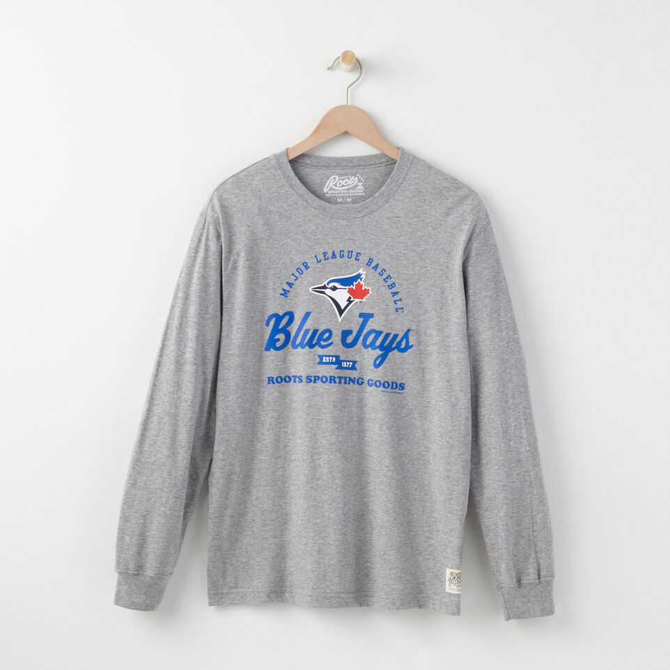 Roots-undefined-Mens Blue Jays Long Sleeve T-shirt-undefined-A