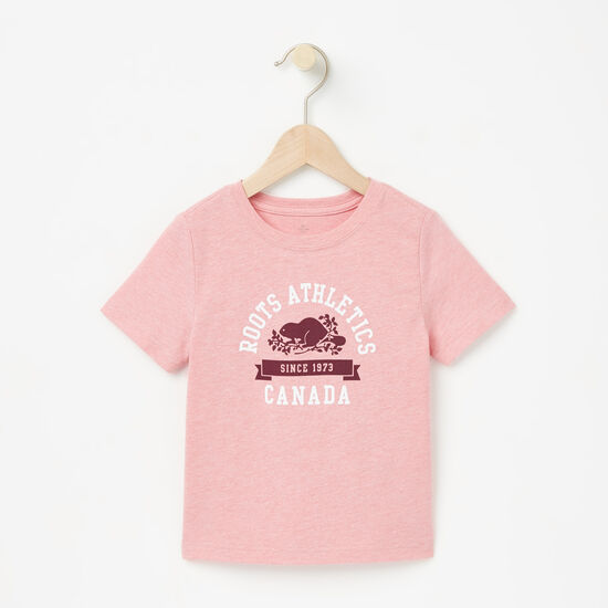 Roots-Kids New Arrivals-Toddler Laurier T-shirt-Bridal Rose Mix-A
