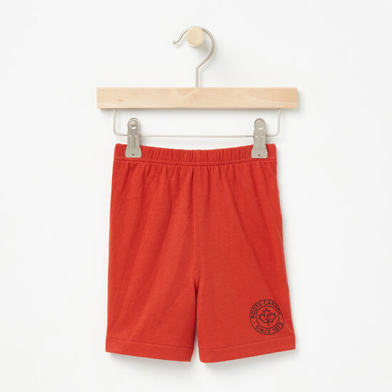 Roots-Sale Baby-Baby Moncton Shorts-Mountie Orange-A