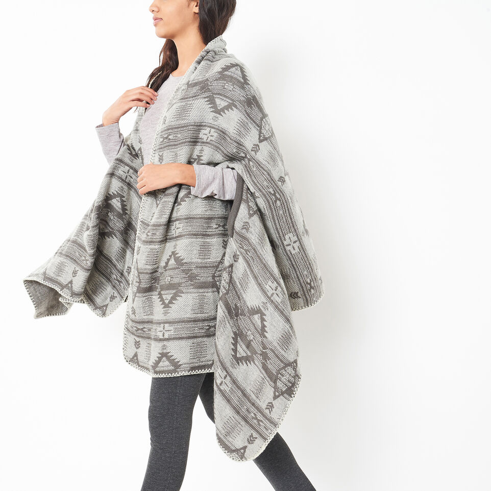 Roots-undefined-Pendleton Keyhole Wrap-undefined-A