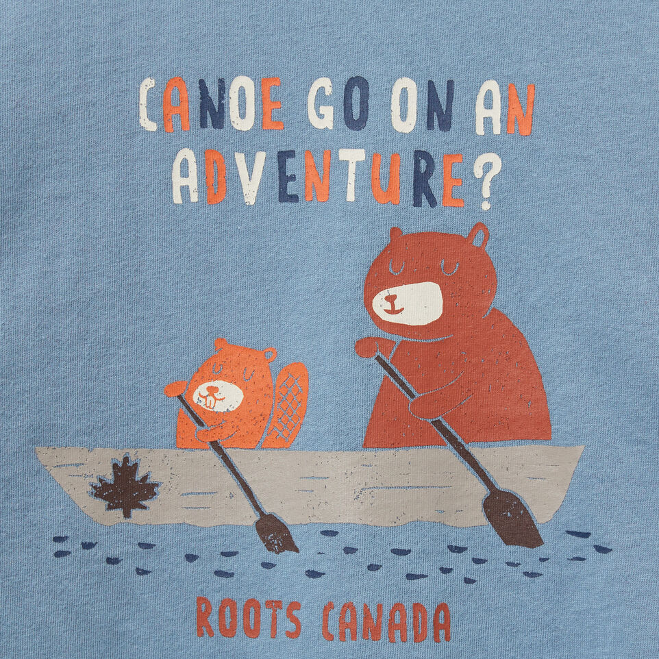 Roots-undefined-Toddler Canoe Adventure T-shirt-undefined-C