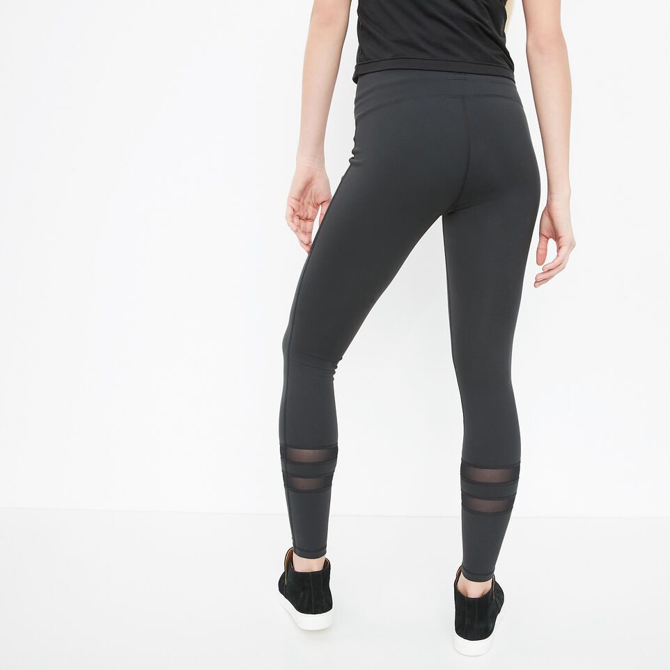 Roots-undefined-High Waist Mesh Panel Legging-undefined-D
