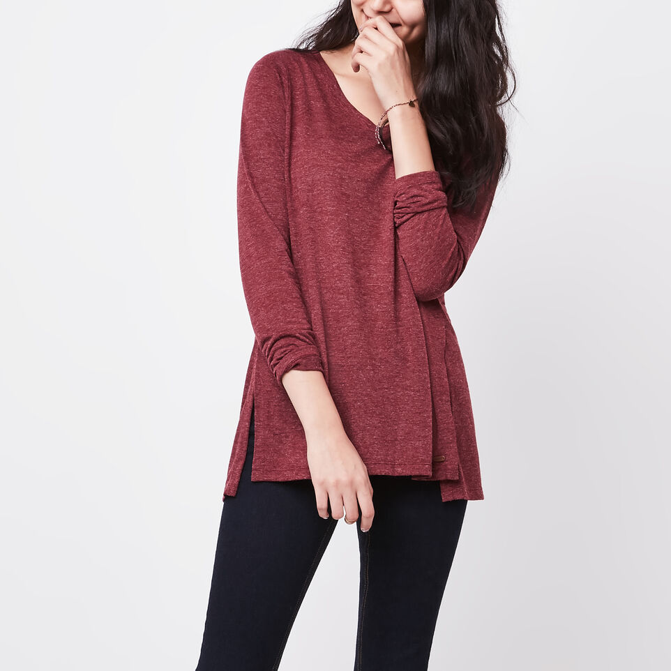 Roots-undefined-Nanoose V Neck Top-undefined-A