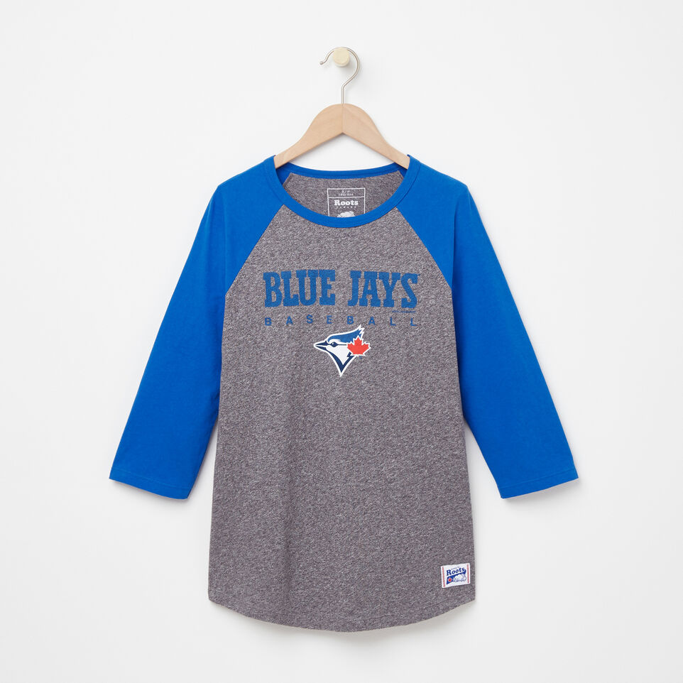 Roots-undefined-Womens Blue Jays Club Baseball T-shirt-undefined-A