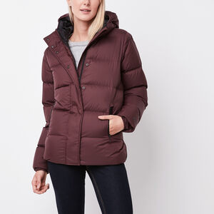Roots-Sale Women's-Pathfinder Parka-Crimson-A