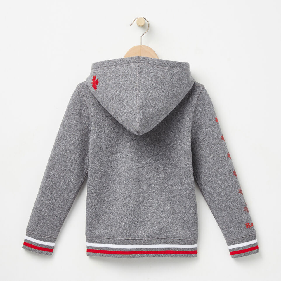 Roots-undefined-Boys Cooper Canada Full Zip Hoody-undefined-B